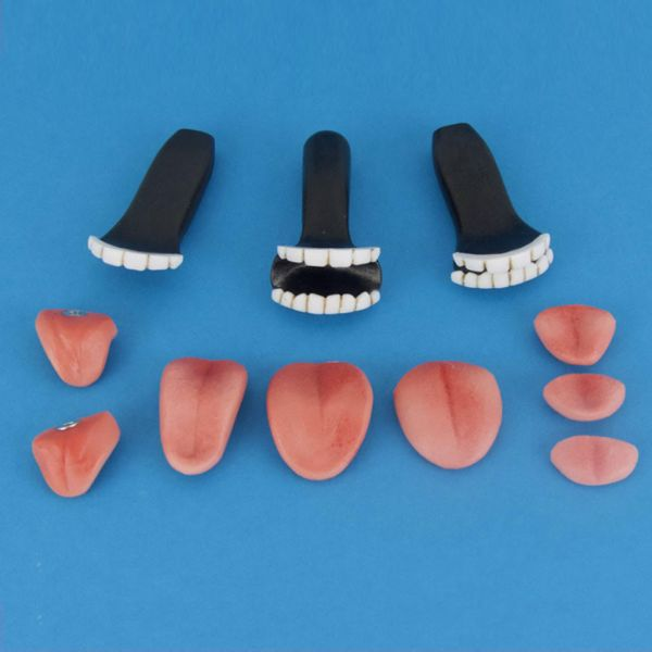 Zähne | Zungen-Set für Deine Sexdoll