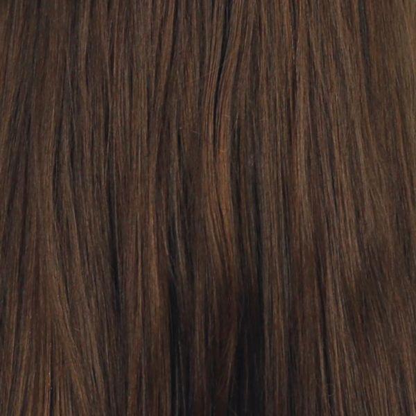 Braune implementierte Haare ( lang )