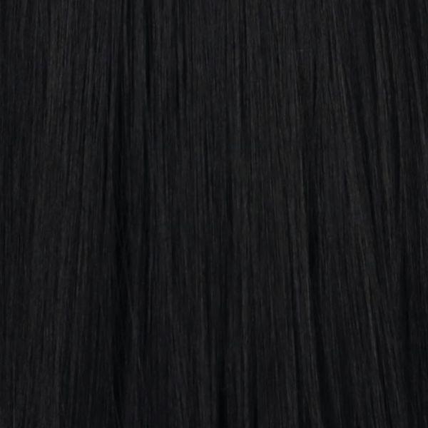 Schwarze implementierte Haare ( lang )