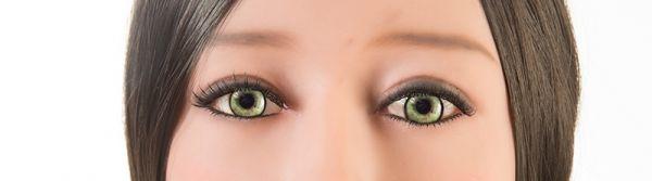 gelbe Augen