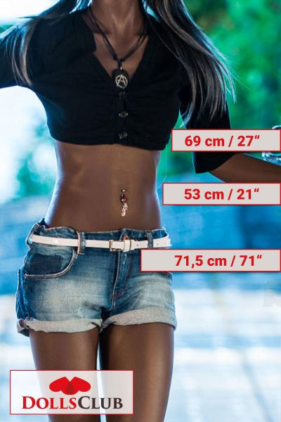 168cm A-Cup